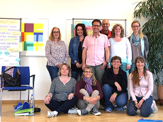 Abschluss Empathisches Counseling 2016/17